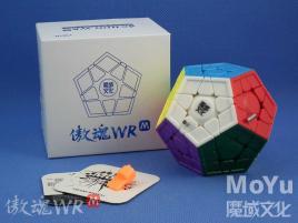 MoYu AoHun WR Magnetic Megaminx Stickelress