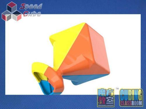 MoYu MoFang JiaoShi 3x3x3 MeiLong Kolorowa