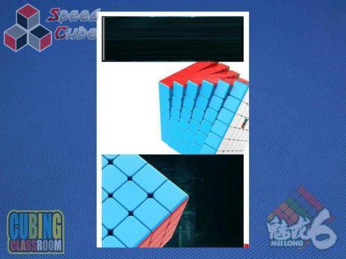 MoYu MoFang JiaoShi 6x6x6 MeiLong Kolorowa