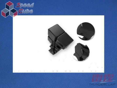MoFangGe QiYi Thunder Clap 60 mm 4x4x4 Czarna