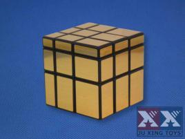 Ju Xing Mirror 3x3 Cube Gold