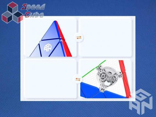 GAN Pyraminx M Standard Stickerless