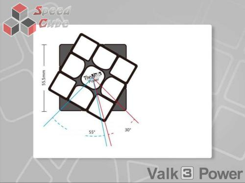 MofangGe QiYi The Valk 3 Power M 3x3x3 Czarna