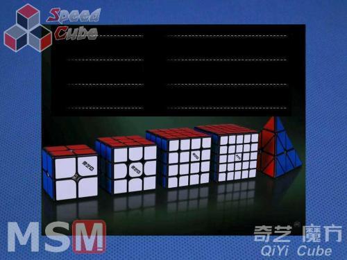 QiYi MS 4x4x4 Magnetic Czarna