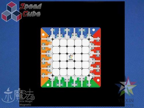 YuXin Little Magic 7x7x7 Magnetic Kolorowa