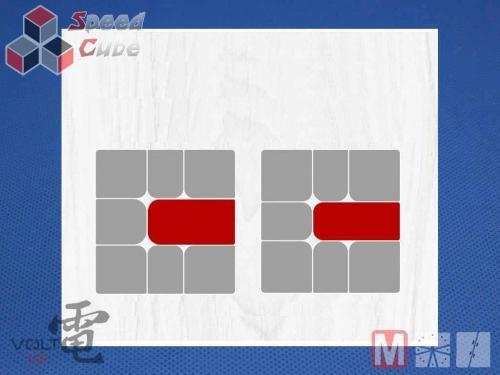 X-Man Volt Square-1 V2 Fully Magnetic Black