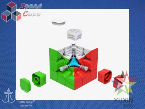 YuXin Little Magic 3x3x3 Magnetic Kolorowa