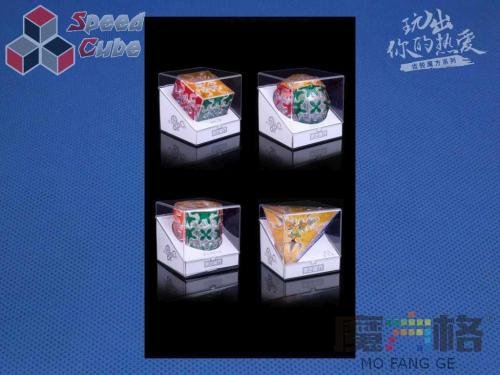 QiYi Gear Transparent Pyraminx Taile