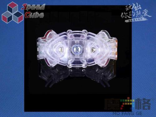 QiYi Gear Transparent 3x3x3 Taile