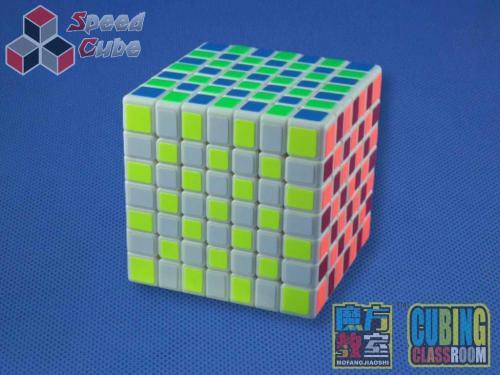 MoYu MoFang JiaoShi 7x7x7 MF7s Biała