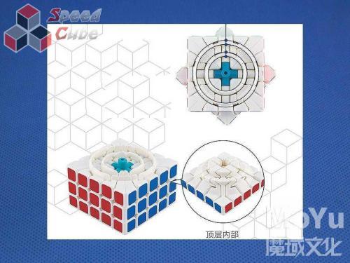 MoYu HuaChuang 5x5x5 Biała