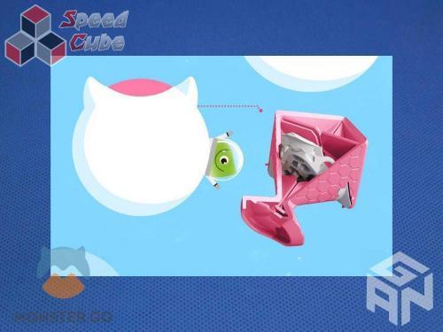 GAN Monster Go Cloud 3x3x3 Pink