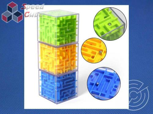 Labirynt 3D Cube Yellow