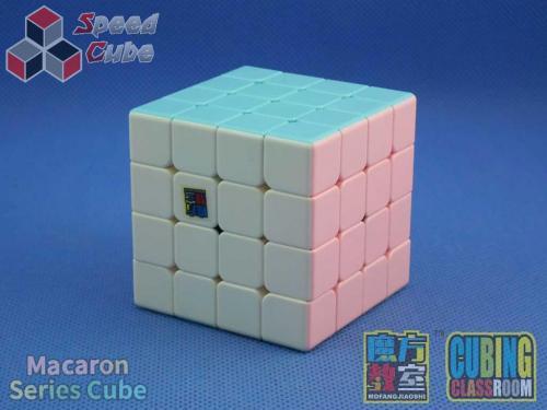 MoFang JiaoShi 4x4x4 MeiLong Macaron