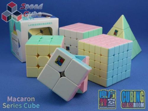 MoFang JiaoShi 5x5x5 MeiLong V2 Macaron