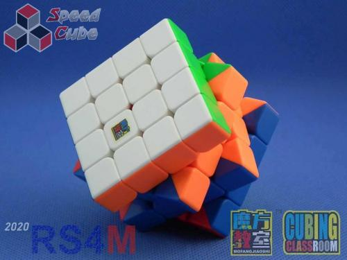 MoYu RS4M 2020 Magnetic 4x4x4 Stickerless