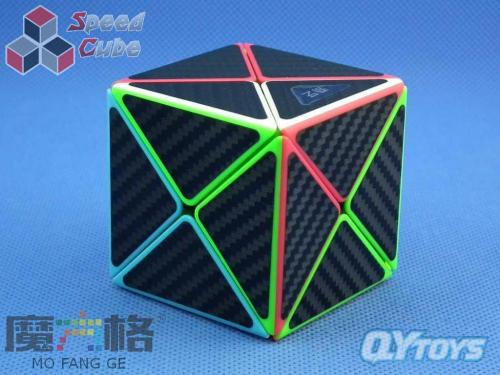 QiYi Carbon Fiber X-Cube Kolorowa