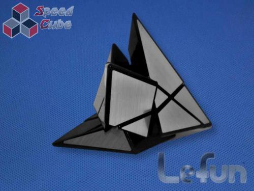 LeFun Ghost Pyraminx Silver Stickers