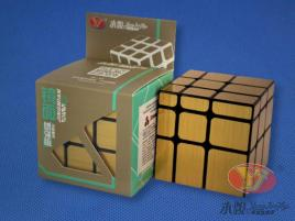 YongJun Mirror Golden Cube 3x3x3