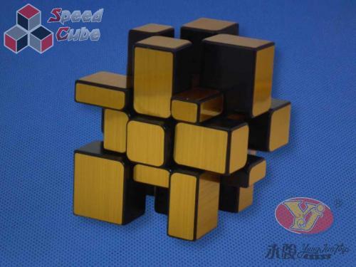 YongJun Mirror Golden Cube 3x3x3