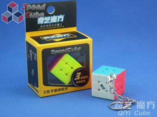 QiYi 3x3x3 Cube Brelok Stickerless