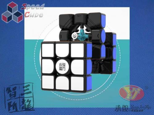 YongJun ZhiLong Mini 3x3x3 Magnetic Stickerless