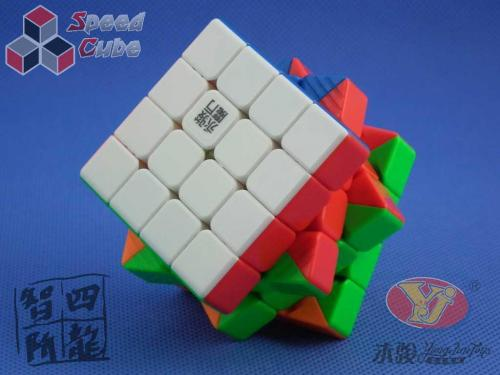 YongJun ZhiLong Mini 4x4x4 Magnetic Stickerless