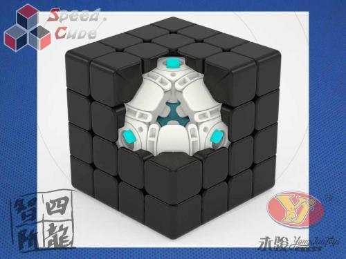 YongJun ZhiLong Mini 4x4x4 Magnetic Stickerless