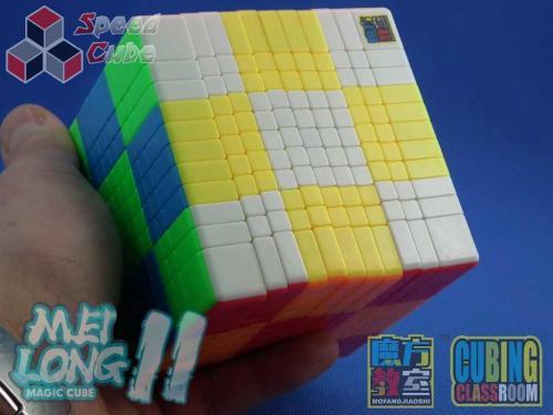 MoYu MoFang JiaoShi 11x11 MeiLong Kolorowa