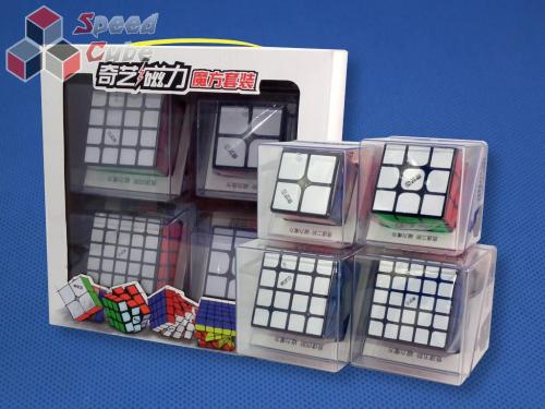 QiYi MS Magnetic Cube Set Black