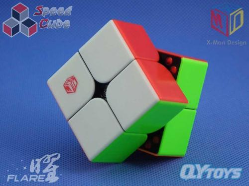 X-Man Flare 2x2x2 Magnetic Stickerless