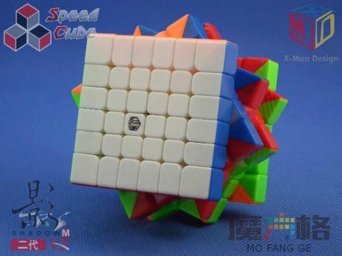 MoFangGe X-Man 6x6x6 Shadow V2 M Kolorowa