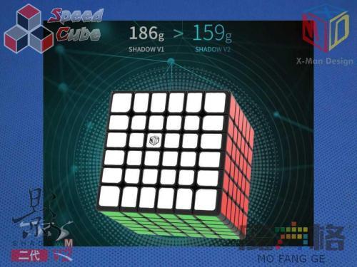 MoFangGe X-Man 6x6x6 Shadow V2 M Black