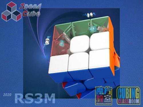 MoYu RS3M 2020 Magnetic 3x3x3 Stickerless