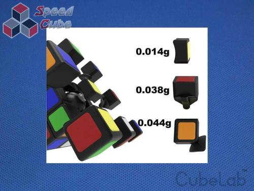Cube Lab 3x3x3 Mini 1cm Blue