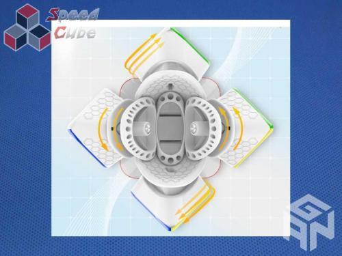 GAN Skewb M Enhanced Stickerless