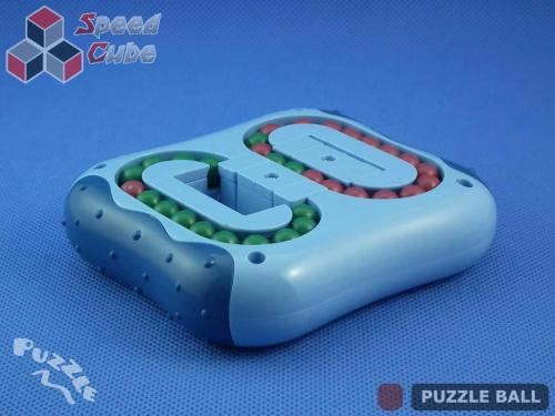 Puzzle Ball Rotating Bean Cube Double Blue