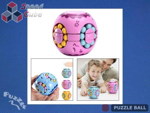 Puzzle Ball Rotating Bean Cube Single Pink