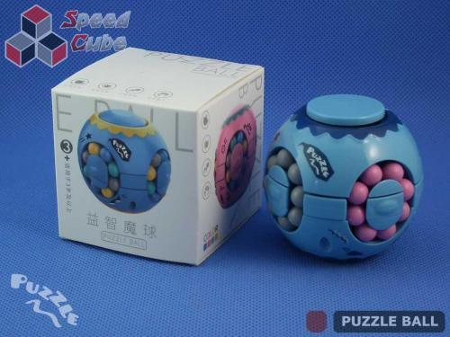 Puzzle Ball Rotating Bean Cube Single Blue