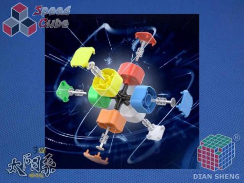 DianSheng 3M 3x3 Magnetic Stickerless