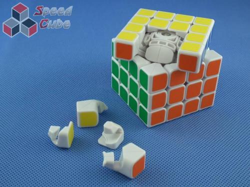 ZhiSheng YuXin 4x4x4 Unicorn King Biała