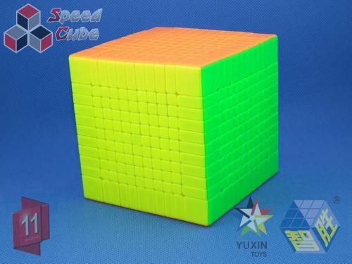 ZhiSheng YuXin Little Magic 11x11x11 Kolorowa