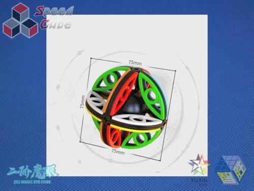 YuXin Magic Eye 2x2 Stickerless