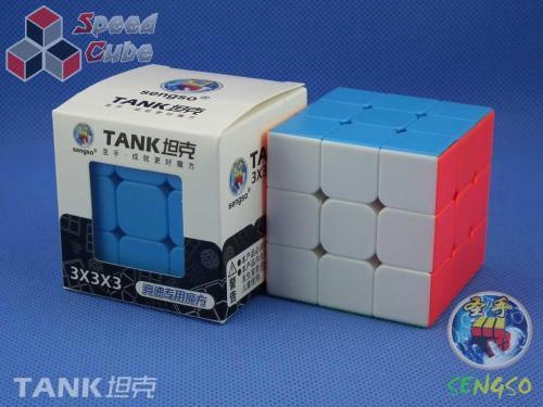 SengSo 3x3x3 TANK Stickerless