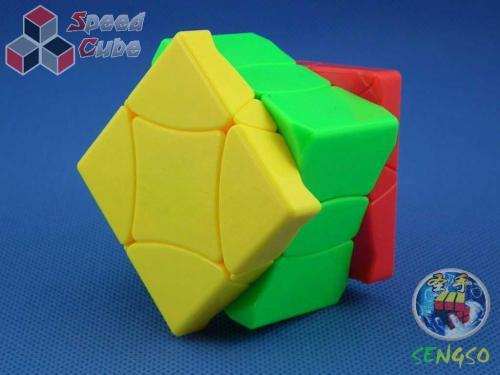 ShengShou Phoenix Cube Kolorowa Green
