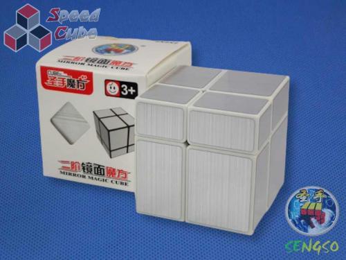 ShengShou Mirror 2x2x2 Silver White
