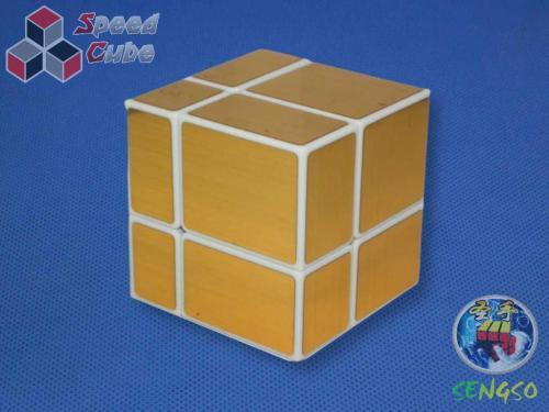 ShengShou Mirror 2x2x2 Gold White