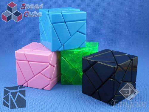 FangCun Ghost Cube Transparent Green