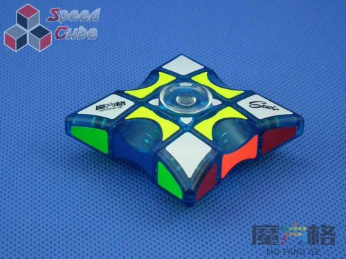 MoFangGe Fidget Spinner 1x3x3 Blue Transparent.