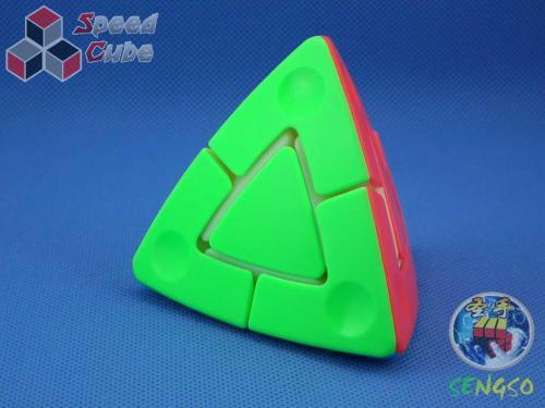 SengSo 2x2 Pyraminx Stickerless